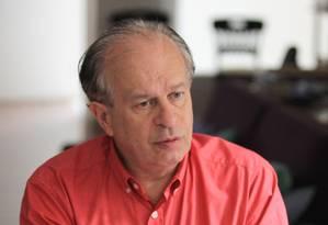 O filósofo Renato Janine Ribeiro é o novo ministro da Educação Foto: Marcos Alves / Arquivo O Globo - 06/03/2015