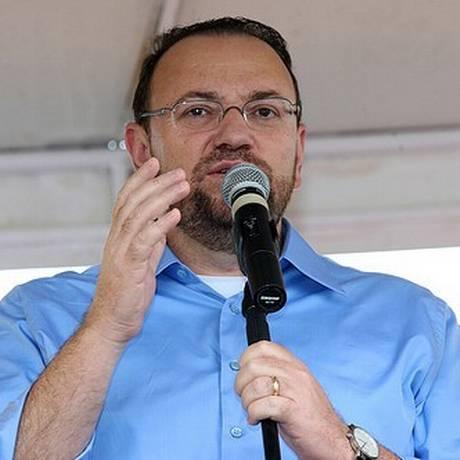 O novo ministro Edinho Silva Foto: Divulgação/18-1-2012