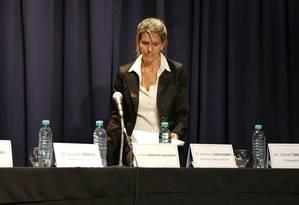 Sandra Arroyo Salgado encomendou perícia que comprovaria assassinato de Nisman Foto: Ricardo Pristupluk / La Nación/GDA