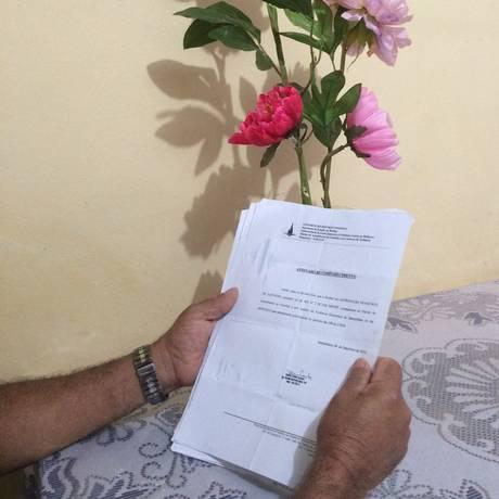 Pedro frequentou centro de reabilitação em Brasília depois de ser preso por violência doméstica Foto: Renata Mariz