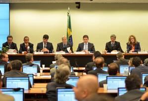 Sessão da CPI da Petrobras Foto: Terceiro / Ricardo Botelho/Brazil Photo Press