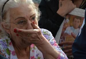 Perícia. Jussara Uglione, avó de Bernardo, suspeitou da grafia da carta de suicídio ligada à filha Foto: GABRIEL HAESBAERT