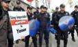 Na Turquia, manifestantes pedem fim da intervenção no Iêmen