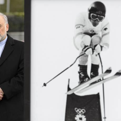 Salehi. Avô e à frente do programa iraniano Foto: Laurent Gillieron / AP/26-03-2015
