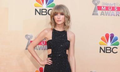 Taylor Swift no iHeartRadio Music Awards Foto: John Salangsang/Invision/AP