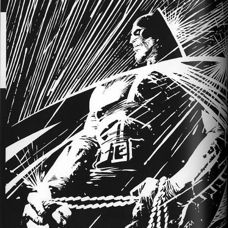 Herói nos anos 1980 em