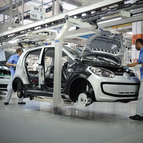 Fábrica da Volkswagen em Taubaté, São Paulo Foto: Divulgação