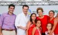 A presidente Dilma Rousseff durante Cerimônia de entrega de 1.032 unidades habitacionais do Conjunto José Rodrigues de Sousa, do Programa Minha Casa, Minha Vida