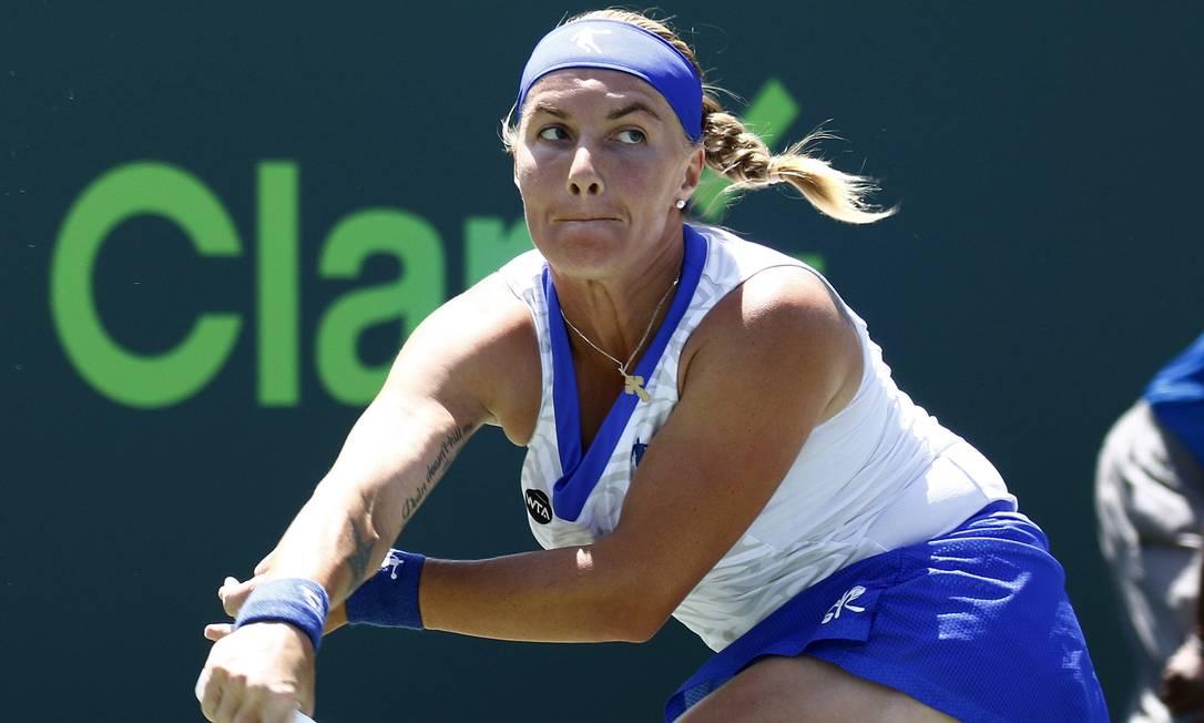 A vítima de Serena foi a russa Svetlana Kuznetsova J Pat Carter / AP
