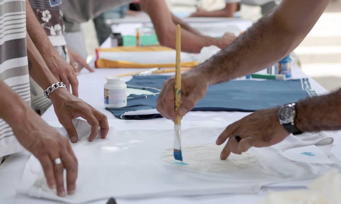 Projeto Atitude, de Pernambuco, acolhe usuários de crack em situação de risco. Iniciativa calcula ter reduzido homicídios em 10% nas áreas onde atua Foto: Hans von Manteuffel