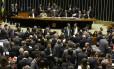 Sessão da Câmara que aprovou o Projeto de Lei 7924/14, da Defensoria Pública da União