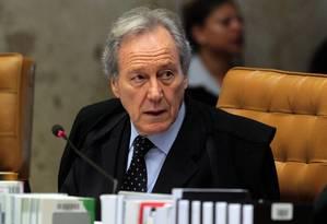 O ministro Ricardo Lewandowski Foto: Givaldo Barbosa/28-05-2014