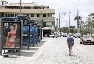 Com o fim do subsídio, moradores de Cabo Frio vão pagar R$ 1,50 para utilizar o transporte público na cidade; tarifa atual é de R$ 0,50 Foto: Fabio Rossi/27-10-2014 / Agência O Globo