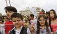 Crianças em Beirute, no Líbano