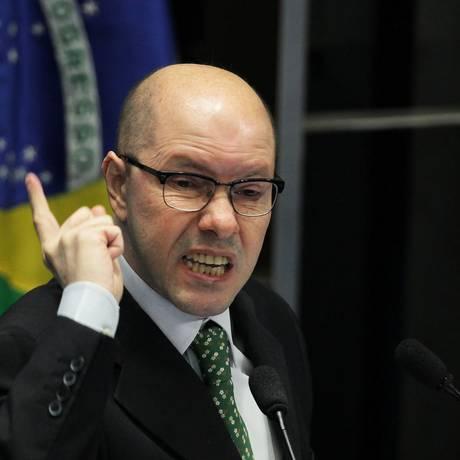 O senador cassado Demóstenes Torres Foto: Ailton de Freitas / Arquivo O Globo