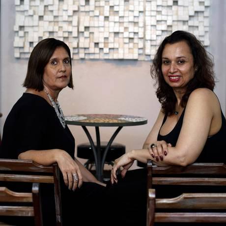 Marcia Barreto e Karla Maria comandam atividades voltadas para público acima de 50 anos Foto: Luiz Ackermann / Agência O Globo