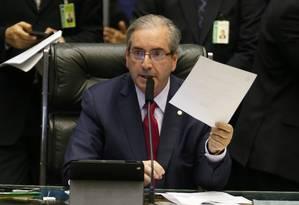 Cunha determina criação de comissão para projeto que regulamenta prostituição Foto: Ailton de Freitas / Agência O Globo