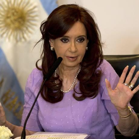 Cristina Kirchner. Promotor tenta reverter rejeição de denúncias contra a presidente argentina Foto: Rodrigo Abd / AP
