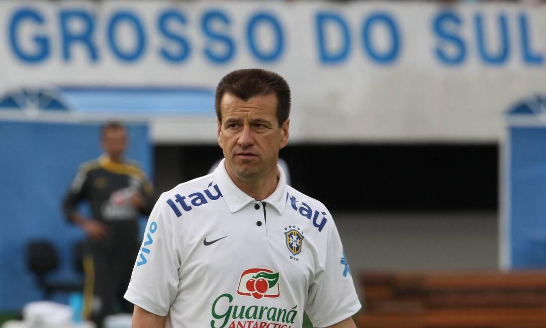 Em Campo Grande, Mato Grosso do Sul, Alexandre Cassiano brinca com a fama do técnico Dunga Foto: Alexandre Cassiano / Agência O Globo