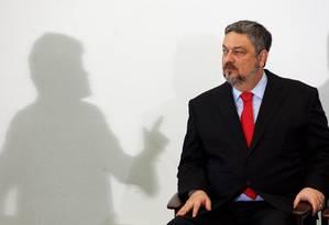 O ex-ministro da Fazenda Antonio Palocci Foto: Gustavo Miranda / Agência O Globo