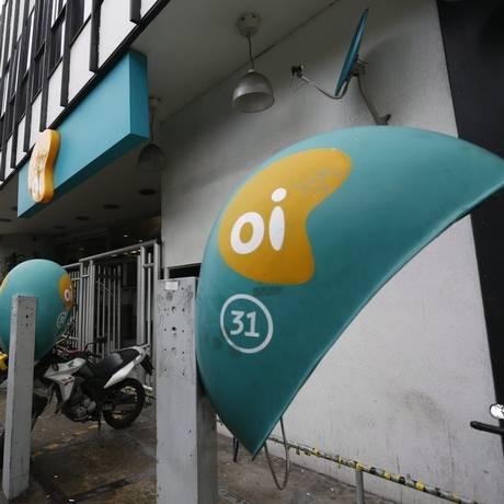 Corte. Oi demitiu 1.070 funcionários ontem e espera reduzir sua folha de pagamentos em 20%. Maior parte foi no Rio. Foto: Custódio Coimbra / Custódio Coimbra/11-07-2014