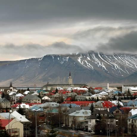 Reyjkavik, a capital da Islândia, em foto de 2006 Foto: GRAHAM BARCLAY