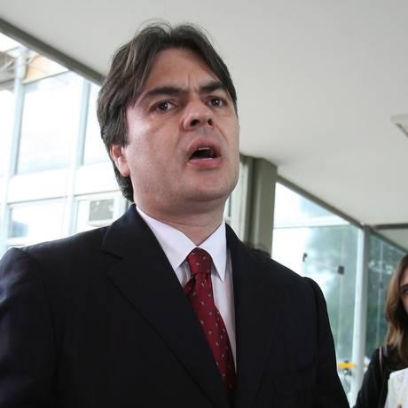 O senador Cássio Cunha Lima Foto: Gustavo Miranda/27-11-2008 / Agência O Globo