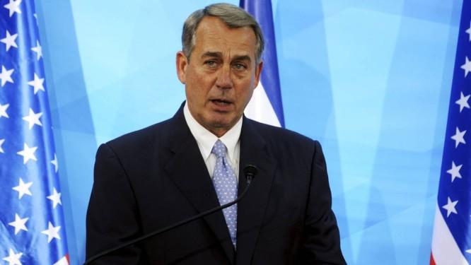Líder da Câmara americana, John Boehner, afirmou que acordo deve ser analisado integralmente pelo Congresso antes que sanções ao Irã sejam suspensas Foto: POOL / REUTERS
