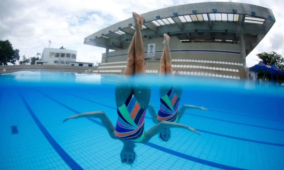 Entre 10 e 12 de abril, elas disputarão o Brasil Open da modalidade, também no Maria Lenk Marcelo Piu / Agência O Globo