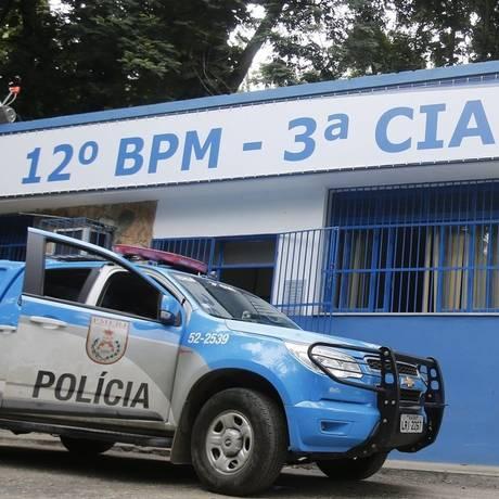 A fachada da Companhia Destacada do Fonseca, no Horto Foto: Felipe Hanower - 01/04/2015 / O Globo