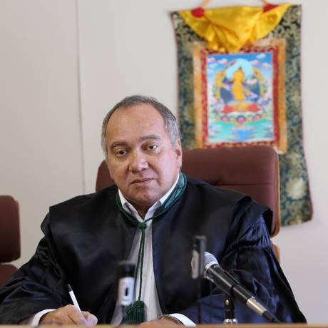 O juiz Flavio Roberto Souza, então ainda à frente da 3ª Vara Criminal Federal Foto: Arquivo/20-2-2015