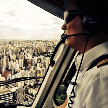 Thomaz Alckmin era piloto profissional Foto: Instagram / Tais Fantato