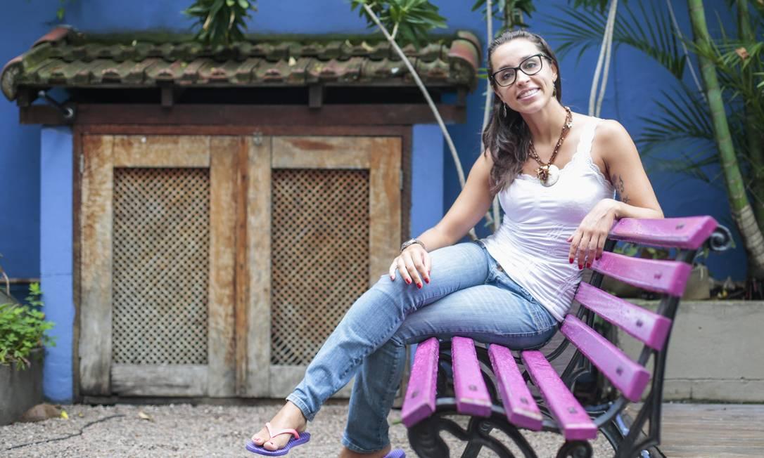 Daniela diz que, onde quer que ela seja vista, estará sempre em profundo estado de meditação contemplativa Foto: Pedro Kirilos / Pedro Kirilos/Agência O Globo