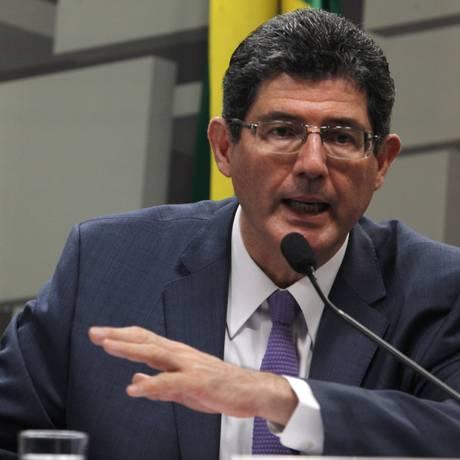 O ministro da Fazenda Joaquim Levy Foto: Givaldo Barbosa / Agência O Globo