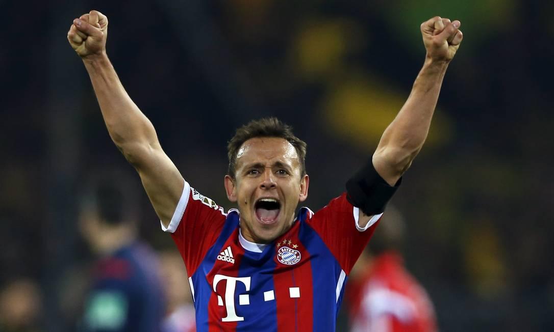 O brasileiro Rafinha em ação pelo Bayern de Munique WOLFGANG RATTAY / REUTERS