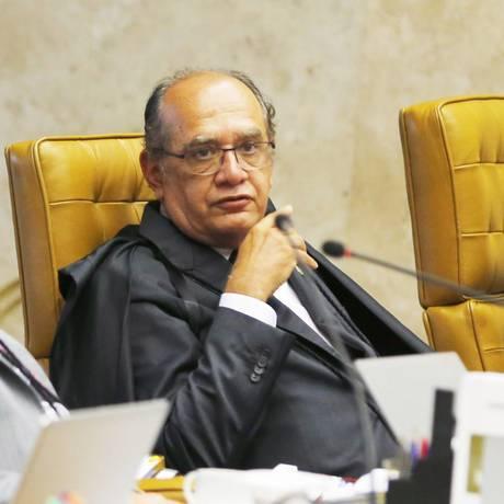 Gilmar pediu vista quando votação estava em 6 a 1 Foto: O Globo / Jorge William/11-3-2015