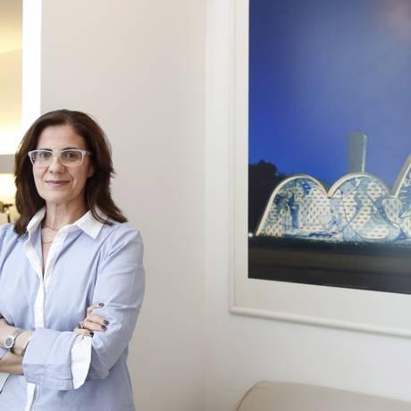 Pampulha. Mônica e o projeto que lhe deu dois prêmios Foto: Agência O Globo / Fábio Rossi