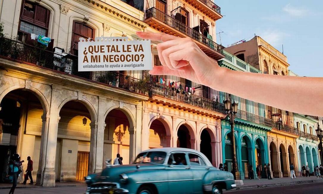 "Revista eletrônica ""En La Habana"" Foto: Divulgação"