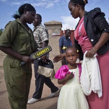Clima de tensão para os mais de 80% de cristãos no Quênia durante a Páscoa Foto: Ben Curtis / AP