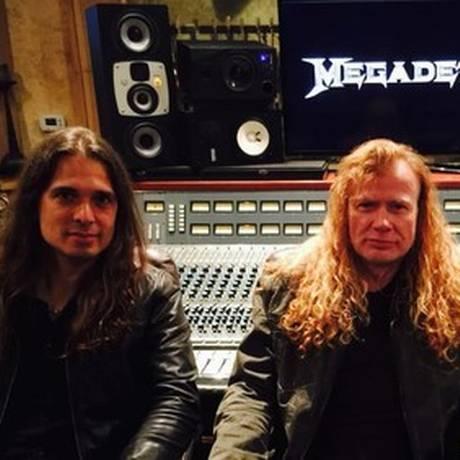Megadeth volta ao Brasil Foto: Divulgação