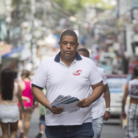 Na Rocinha, o empresário afirma que o Grupo Carteiro Amigo foi a primeira franquia a sair de uma favela Foto: Hudson Pontes