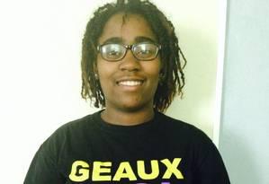 A estudante Claudetteia Love Foto: Reprodução/Facebook
