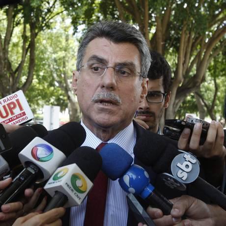 O senador Romero Jucá Foto: Givaldo Barbosa/11-11-2014 / Agência O Globo