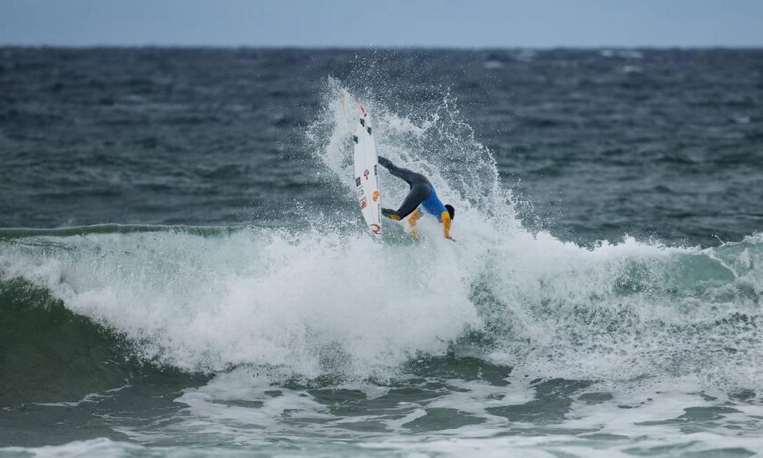 Medina em ação em Bells Beach Divulgação / World Surf League