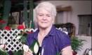 No site de arrecadação, vídeo mostra rotina da florista Foto: Reprodução/YouTube