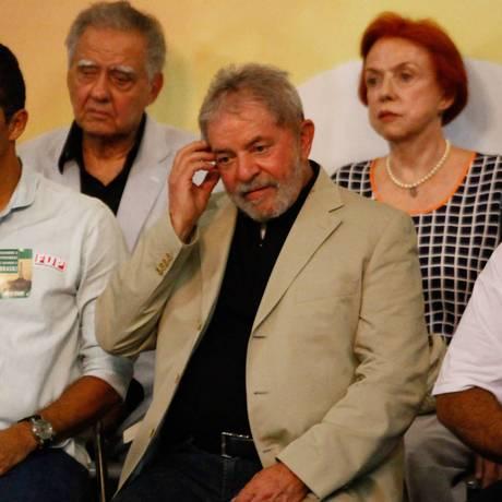 Ex-presidente Luiz Inácio Lula da Silva Foto: ABI / Daniel Scelza/