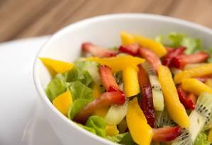 Frutas e hortaliças, uma raridade no prato do brasileiro Foto: Washington Possato / Washington Possato