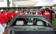 Protesto em frente ao Congresso Nacional gerou confronto entre policiais e manifestantes das centrais sindicais