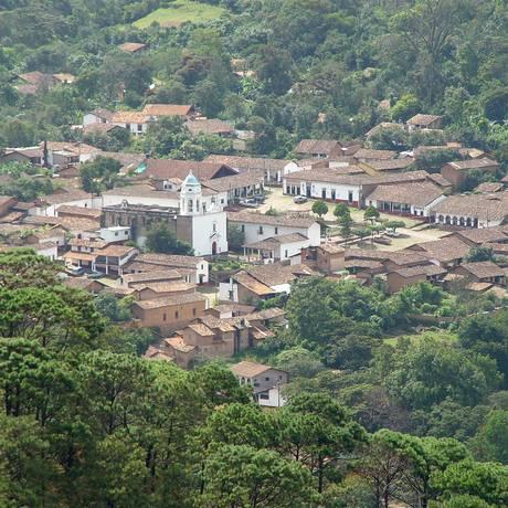 San Sebastian del Oeste. Cidade foi palco de ataque contra policiais atribuído ao grupo criminoso Nova Geração de Jalisco Foto: Wikimedia Commons