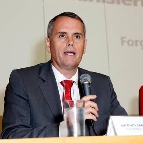 Antônio Carlos Welter é um dos nove procuradores da força-tarefa da Operação Lava-Jato Foto: Vivian Fernandez/Divulgação MPRJ